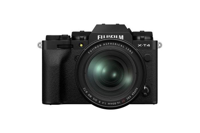 Fujifilm X-T4 - بهترین دوربین های عکاسی 2021