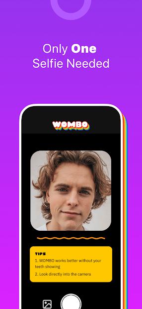 دانلود اپلیکیشن Wombo