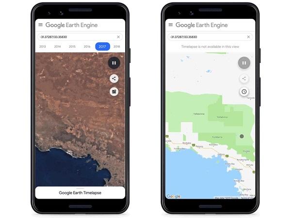 آموزش کار با تایم لپس گوگل ارث (Google Earth Time laps) چگونه است؟