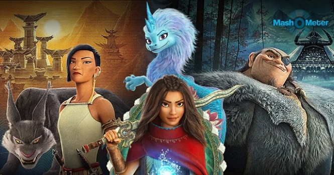 نقد انیمیشن Raya And The Last Dragon ؛ الهامها و اقتباسهای فرهنگی