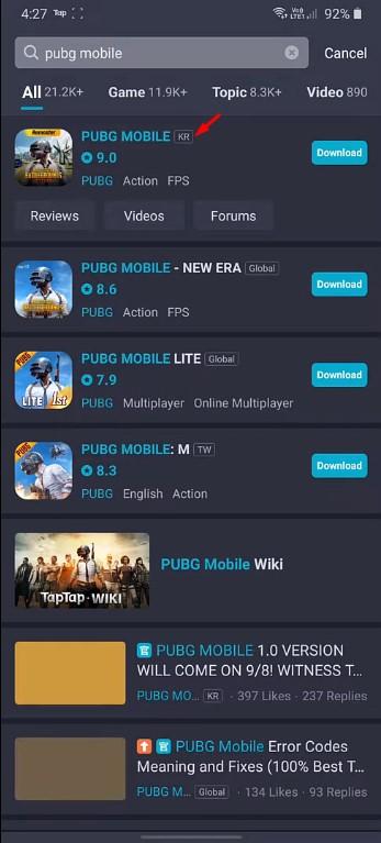 دانلود بازی پابجی کره ای برای کامپیوتر و آیفون ؛ PUBG Mobile KR
