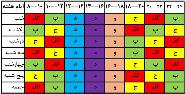 زمان بندی قطع برق فارس 1400 ؛ جدول قطعی برق شیراز چگونه است؟