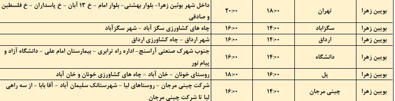 زمان بندی قطع برق قزوین 1400 ؛ جدول قطعی برق قزوین چگونه است؟