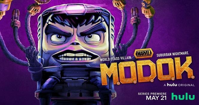 نقد سریال MODOK (موداک 2021) : خشونت جذاب!