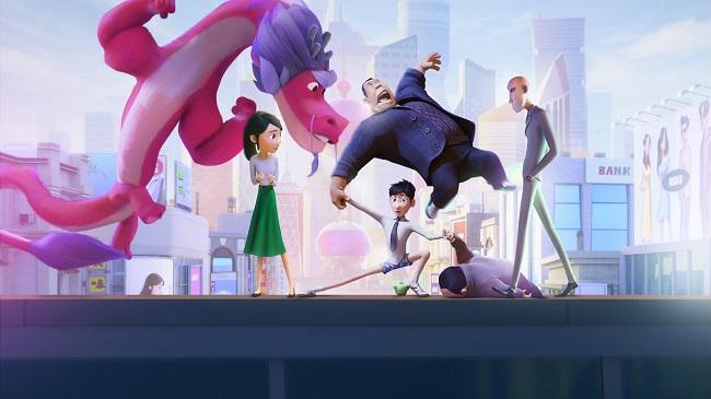 نقد انیمیشن Wish Dragon (اژدهای آرزوها 2021)