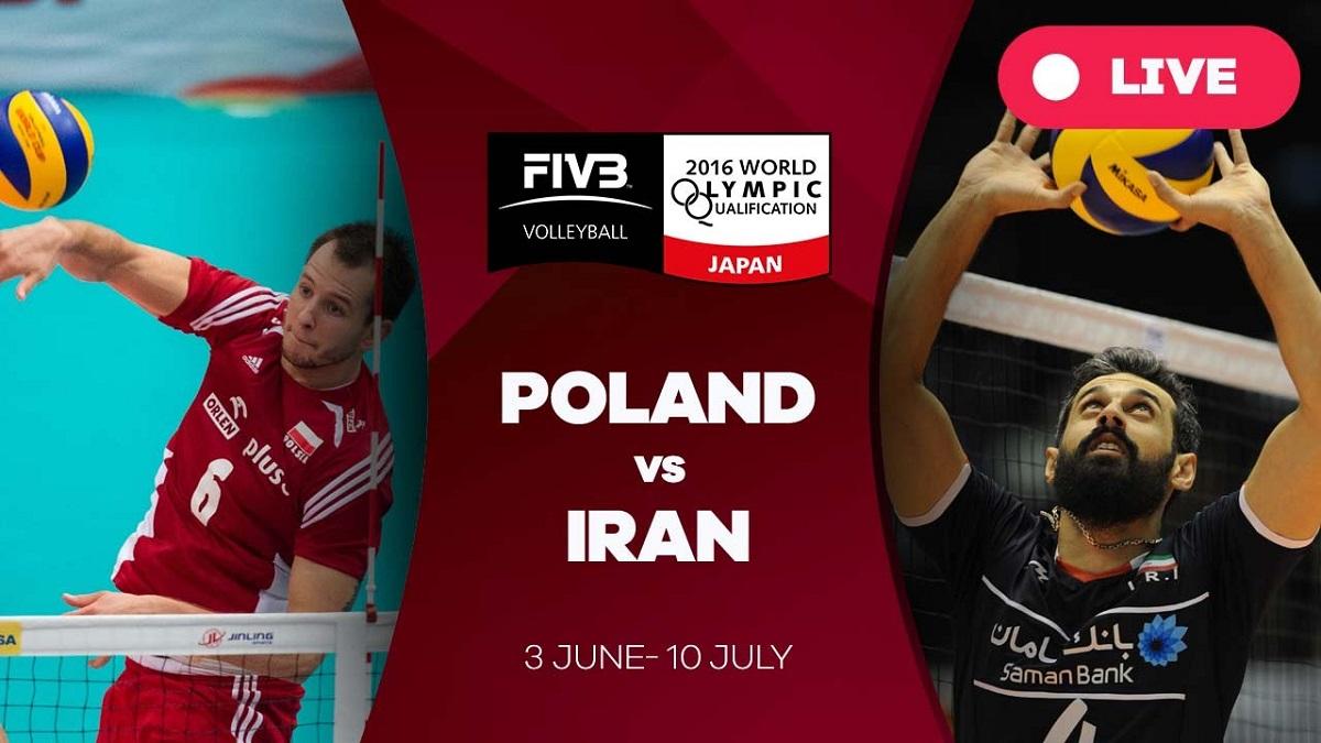 پخش زنده والیبال امروز ایران لهستان 1 تیر 1400 [+ساعت پخش]