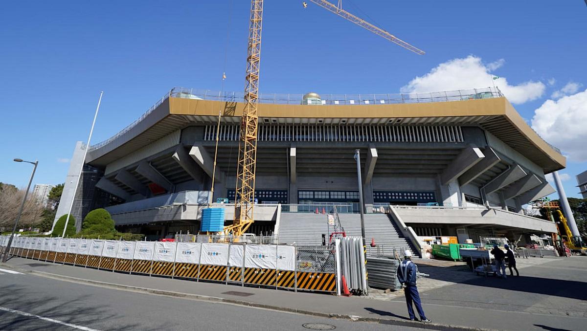 ایجاد تغییرات در نیپون بودوکان و لیفت آن برای المپیک توکیو ۲۰۲۰