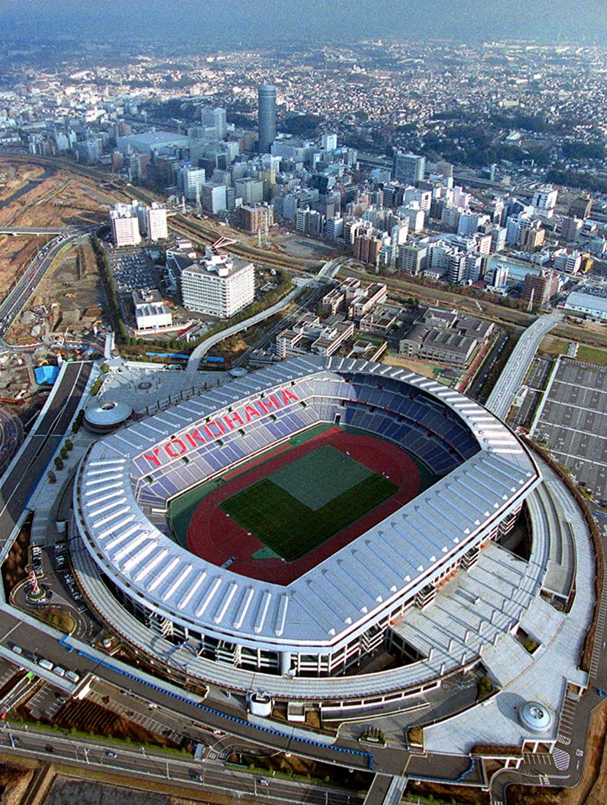 نمایی از استادیوم بین المللی یوکوهاما