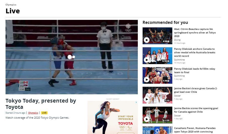 رویدادهای ورزشی را از CBCPlayer چگونه دنبال کنیم ؟
