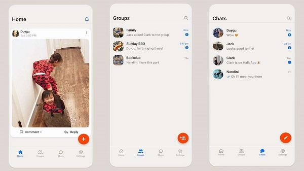 986348 hallo app - دانلود اپلیکیشن پیام رسان HalloApp برای اندروید و iOS [+آموزش نصب و فعالسازی]