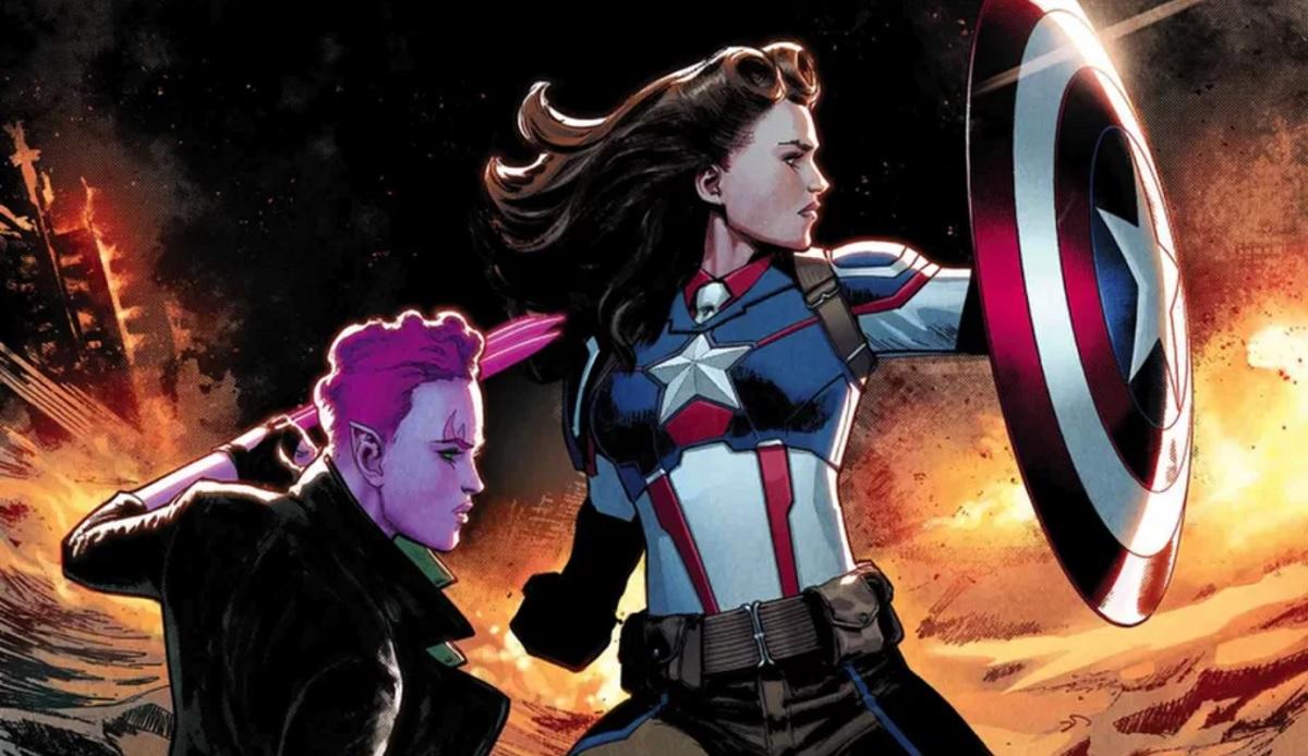 پگی کارتر و کاپیتان امریکا