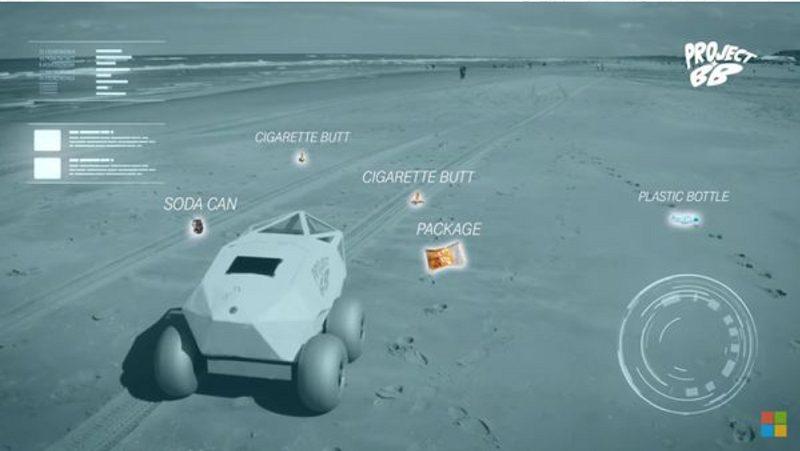Beach Bot ؛ رباتی برای جمع آوری ته سیگارها