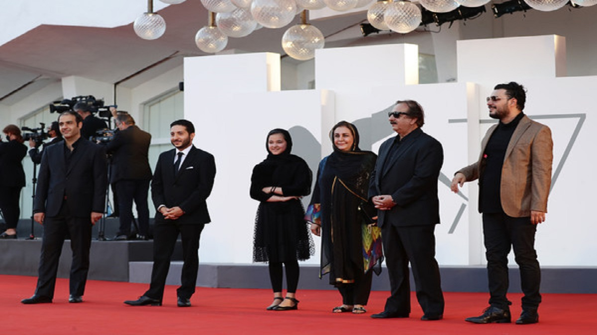 دیدار کیت بلانشت و جواد عزتی در جشنواره ونیز [+فیلم]