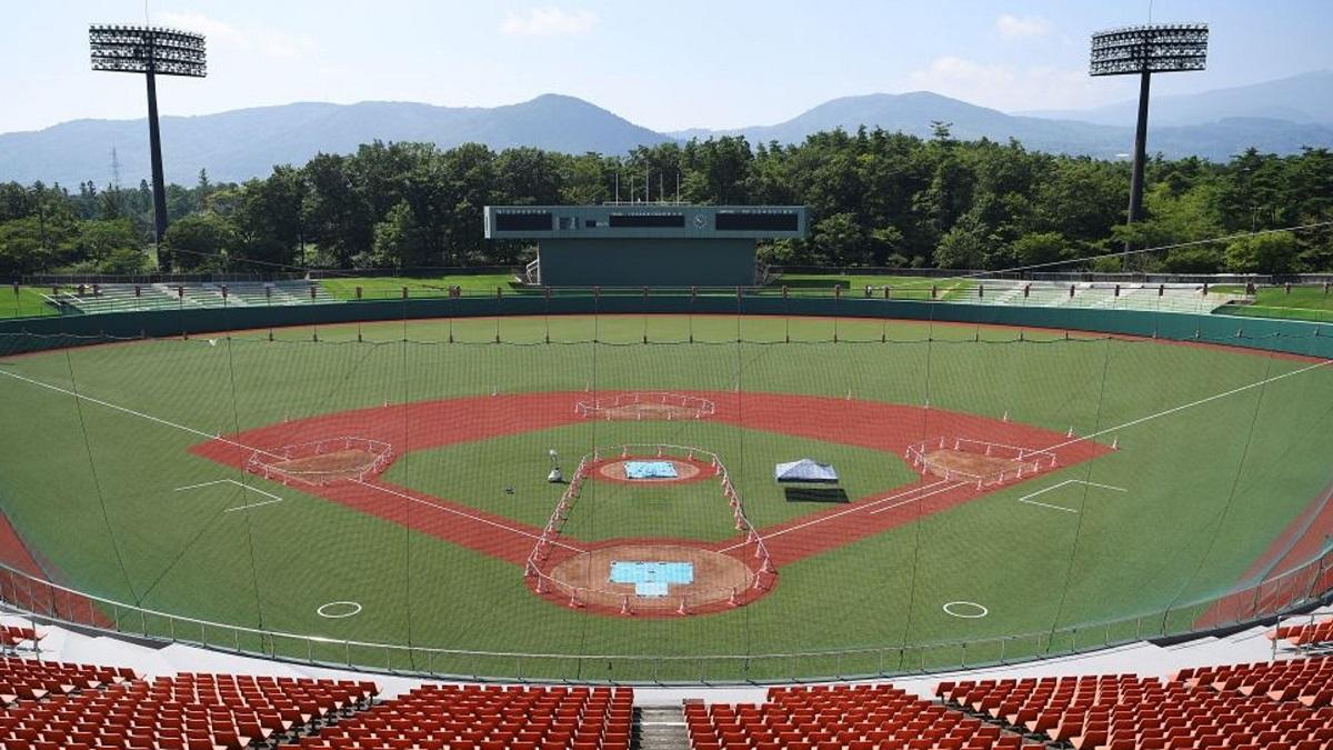 نمایی از استادیوم بیسبال