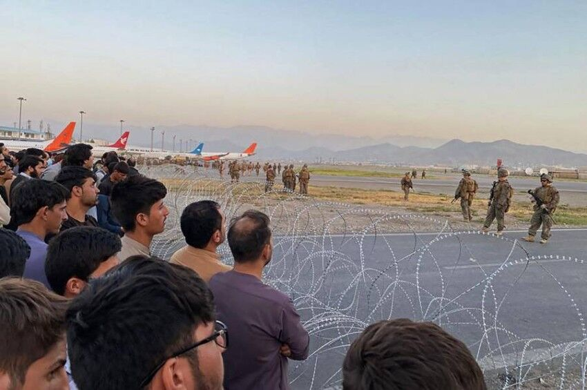 فیلم های فرودگاه کابل ؛ ماجرا چیست و کاربران چه میگویند؟