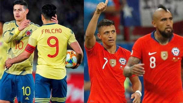 پخش زنده بازی کلمبیا شیلی 19 شهریور 1400