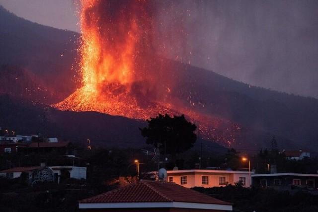 فعالیت آتشفشان لاپالما در جزایر قناری