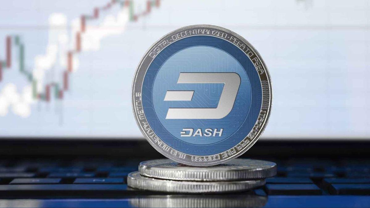 قیمت لحظه ای ارز دیجیتال دش (DASH)