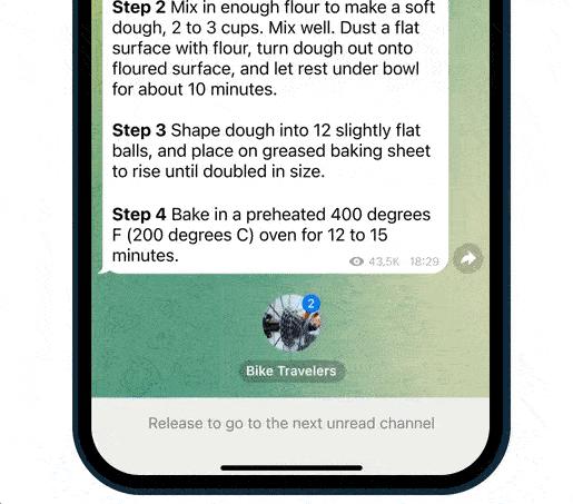 آپدیت جدید تلگرام منتشر شد ؛ بررسی قابلیت های جدید Telegram 8.0