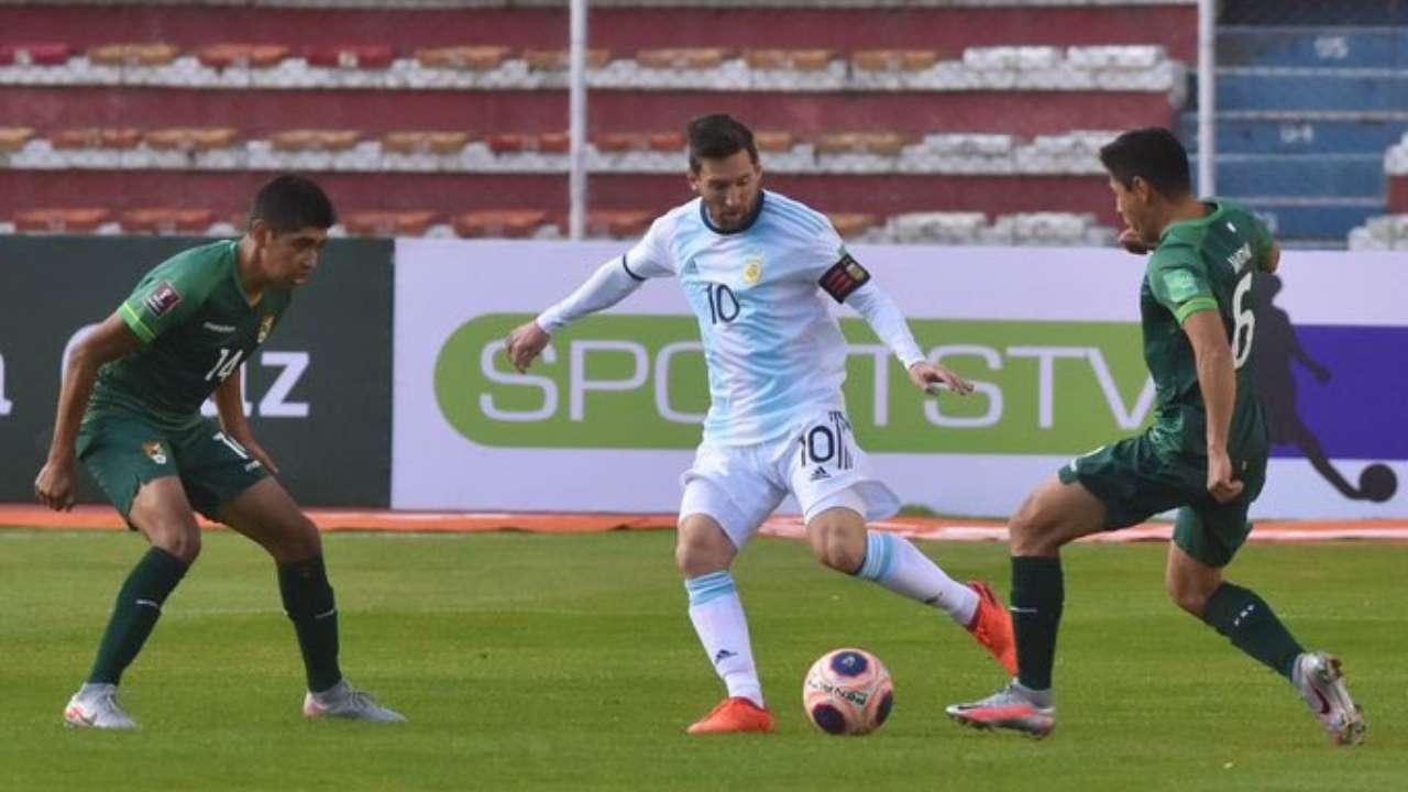 پخش زنده بازی آرژانتین بولیوی 19 شهریور 1400