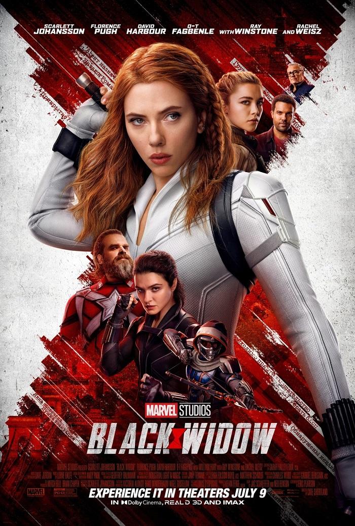 پرفروش ترین فیلم های هفته سی و ششم سال 2021