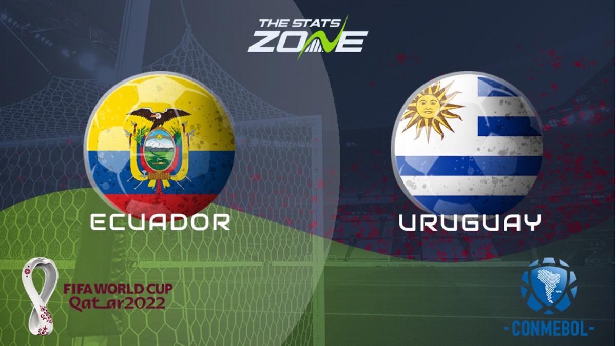 پخش زنده بازی اروگوئه اکوادور 19 شهریور 1400 [مقدماتی جام جهانی قطر]
