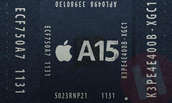 بهبود 13 درصدی عملکرد گرافیکی اپل A15