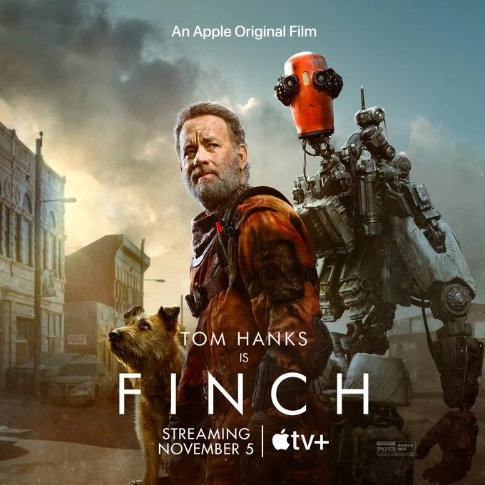 پوستر جدید فیلم Finch با بازی تام هنکس منتشر شد + تاریخ انتشار