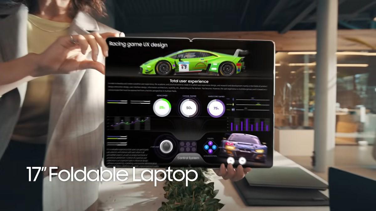 سامسونگ گلکسی بوک فولد ؛ لپ تاپ آینده نگر سامسونگ را ببینید