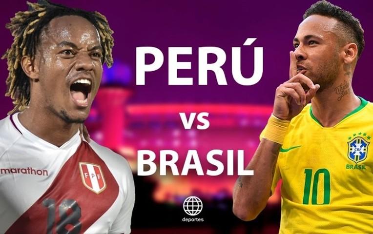 پخش زنده بازی برزیل پرو 19 شهریور 1400