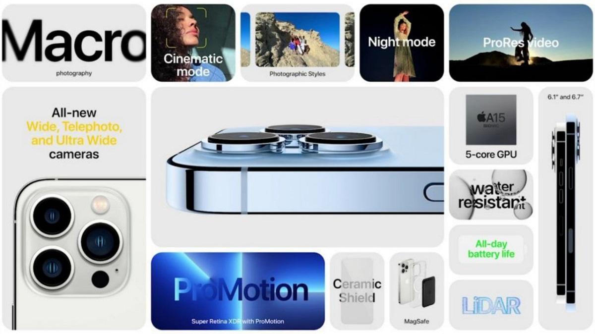اپل آیفون 13 پرو (Apple iPhone 13 Pro) ؛ قیمت، مشخصات فنی و قابلیت ها