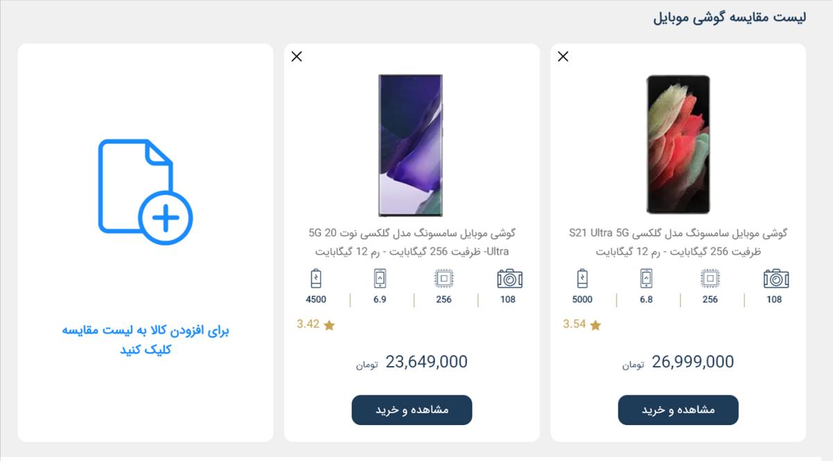 تکنولایف از انتخاب تا خرید و ارسال سریع گوشی