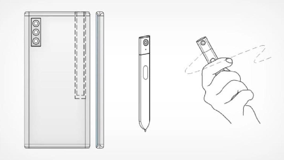 سامسونگ به فکر اضافه کردن دوربین به قلم S Pen است