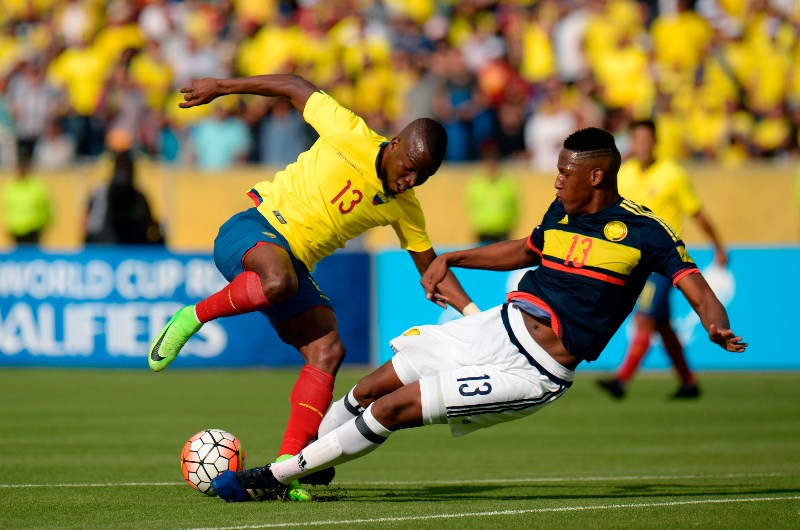 پخش زنده بازی کلمبیا اکوادور 23 مهر 1400
