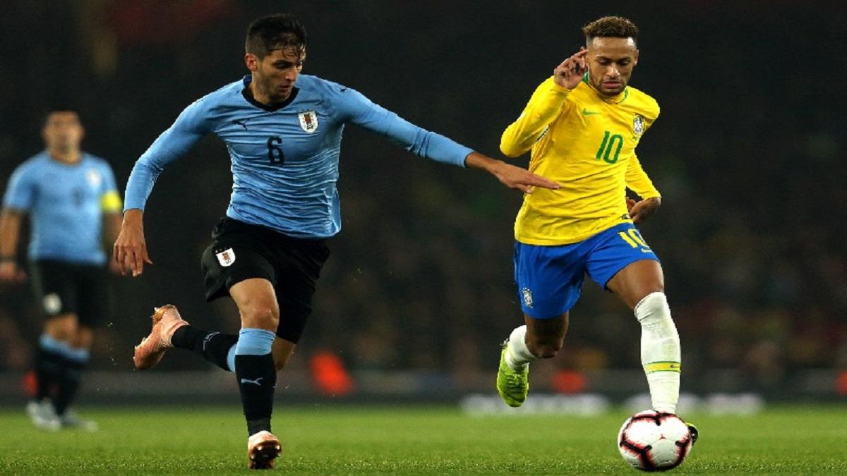 پخش زنده بازی برزیل اروگوئه 23 مهر 1400 [مقدماتی جام جهانی]