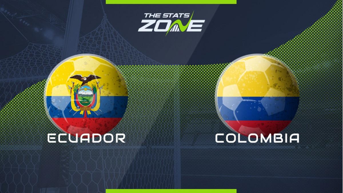 پخش زنده بازی کلمبیا اکوادور 23 مهر 1400 [مقدماتی جام جهانی]