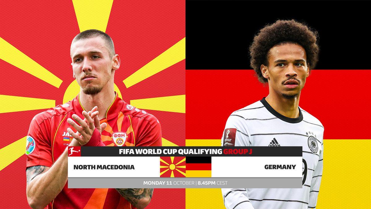 پخش زنده بازی آلمان مقدونیه شمالی 19 مهر 1400