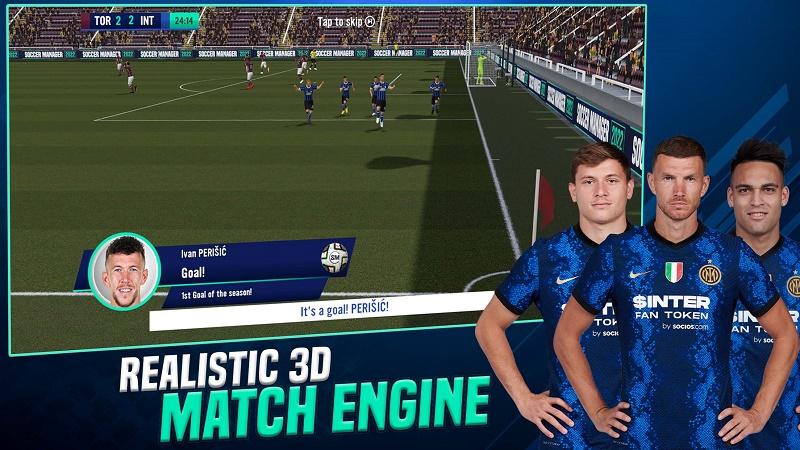 بازی soccer manager 2022