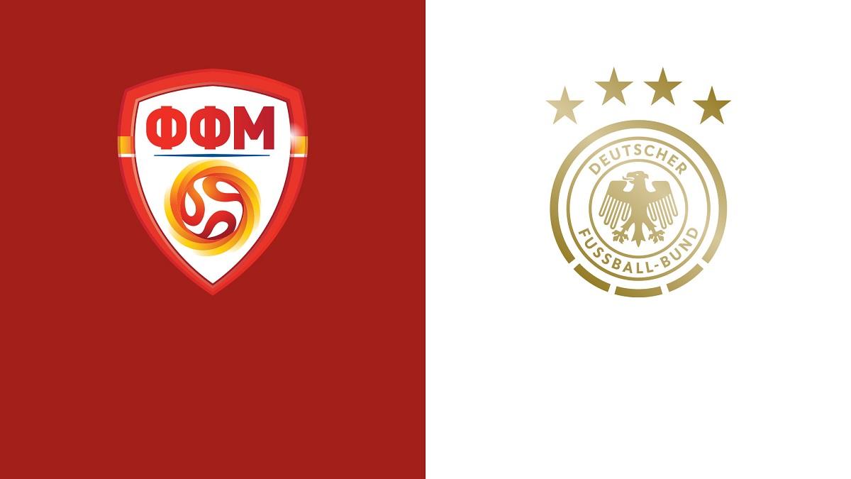 پخش زنده بازی آلمان مقدونیه شمالی 19 مهر 1400 [مقدماتی جام جهانی]
