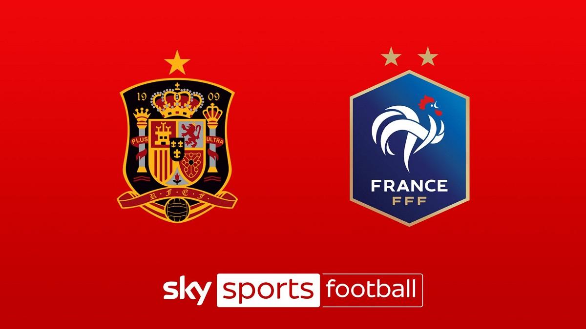 پخش زنده بازی اسپانیا و فرانسه امشب 18 مهر 1400 [فینال لیگ ملت های اروپا]